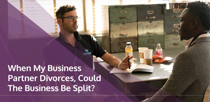 Business partner divorce