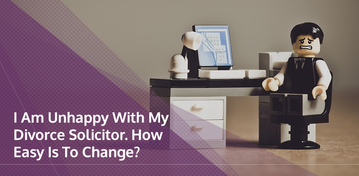 Changing divorce lawyer